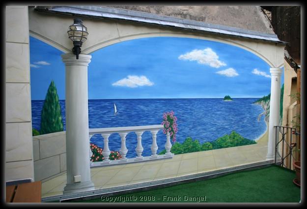 Wandbemalung einer for Wandbemalung schlafzimmer